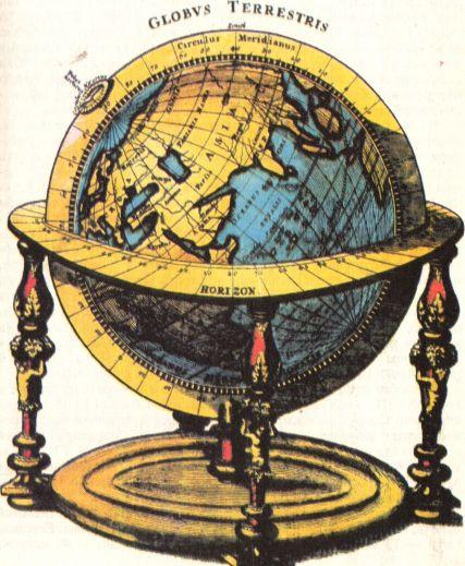 Когда и где был создан первый глобус