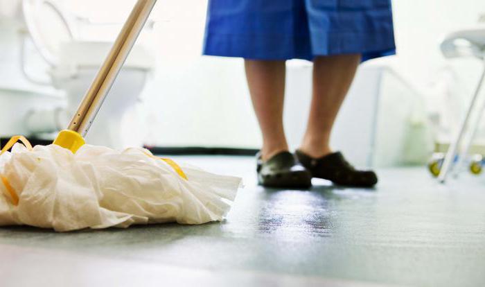 Технология проведения генеральной уборки помещений