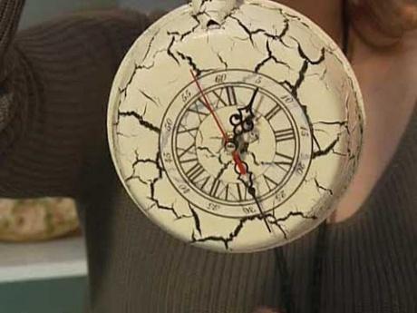Часы из сковородки своими руками