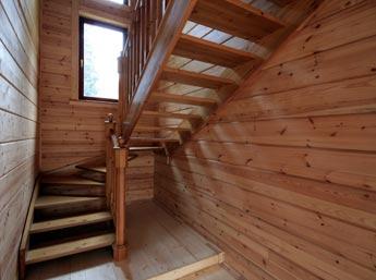 Как построить деревянную лестницу на второй этаж 27