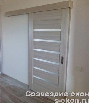 межкомнатные двери на роликах фото