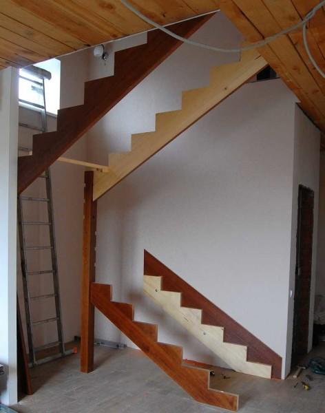Ремонт лестницы в частном доме своими руками 67
