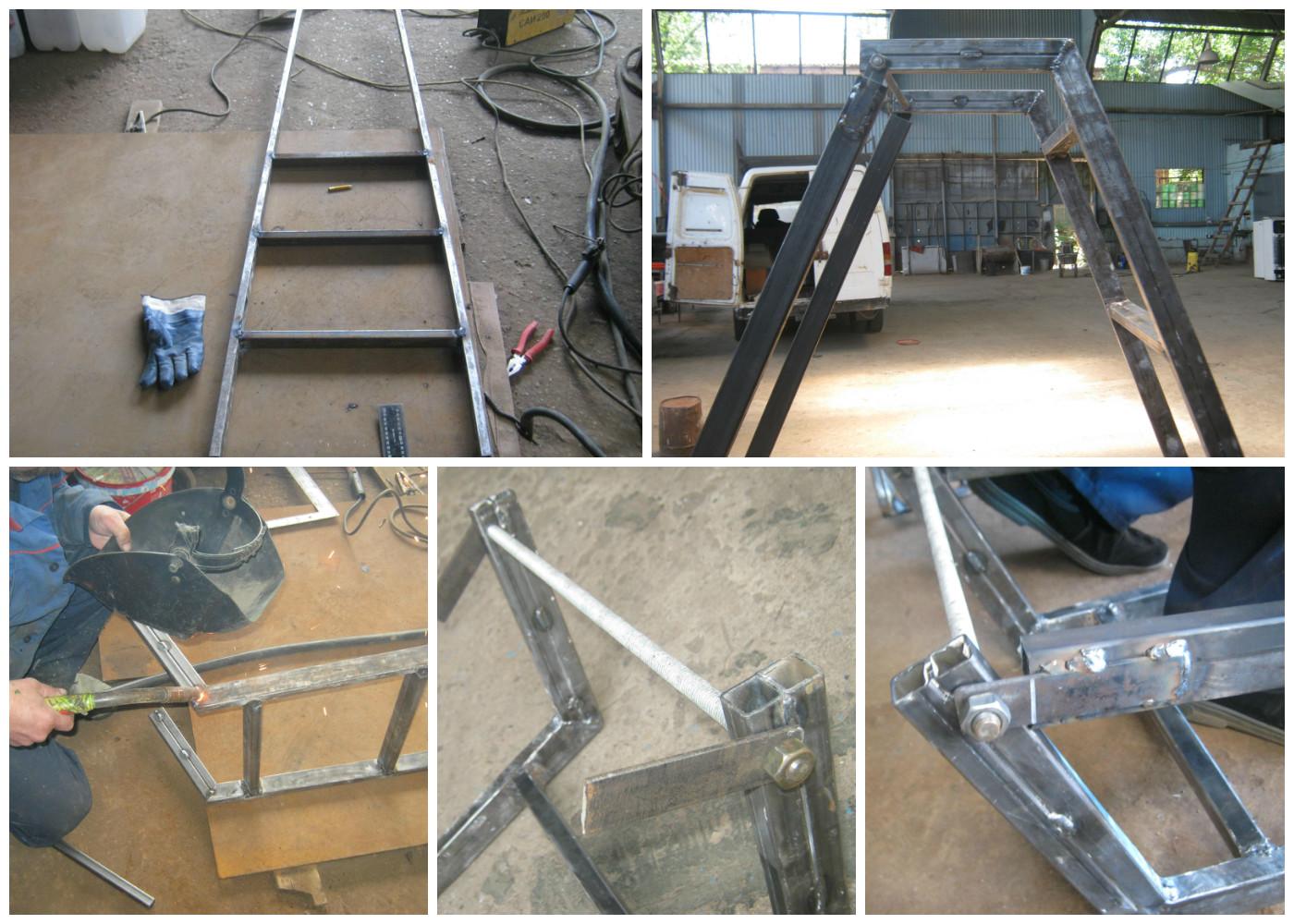 Лестница трансформер своими руками фото 444