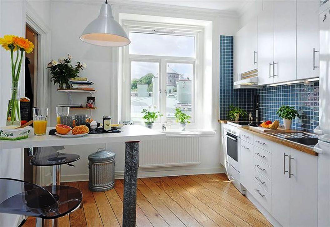 Белая кухня своими руками