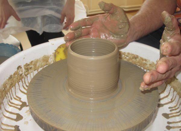 Как делать посуду из керамики