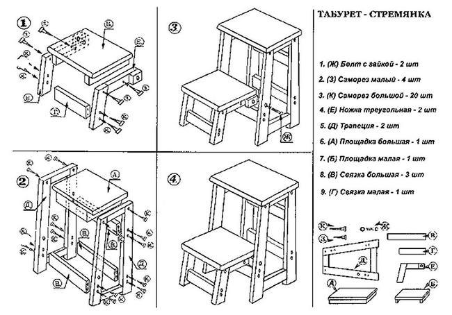 Produkte Transformatoren aus Holz. Treppenleiter Transformator aus ...
