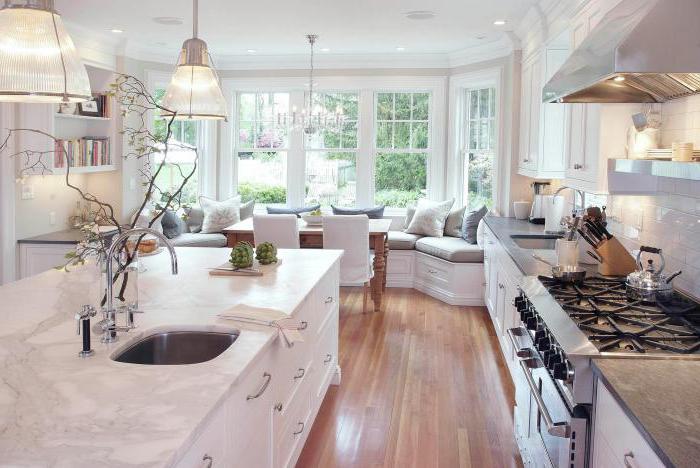 Was ist die Fassade der Küche? Küchenset: für eine kleine, große ...