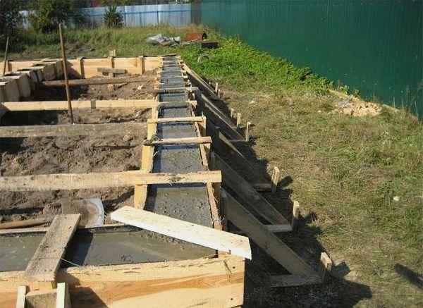 Как правильно залить фундамент под баню: что нужно сделать до заливки. Как правильно залить фундамент под баню.