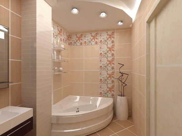 Die Verwendung Von Fliesen Mit 2 Grundfarben Sieht Gut Aus, Wenn Sie Den  Raum Eines Kombinierten Badezimmers Und Einer Toilette Dekorieren, So Dass  Sie Zwei ...