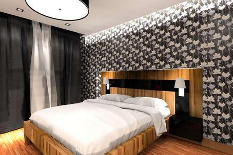 Auch Schwarze Tapete In Kombination Mit Anderen Farbausführungen Sind Für  Männer Geeignet Schlafzimmer: Hier Die Rolle Der Schwarzen Ist Das  Schlafzimmer ...