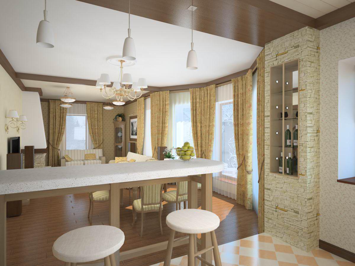 Küchenset, das die Kosten berechnet. Programme für die Küchendesign